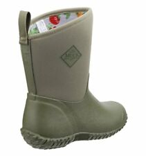 Muck Women's Muckster II RHS Boots Moss/Tomato WM2-3TOM Size 7 Brand New N Box