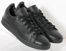 Adidas M20327 Stan Smith Black Lace-Up Casual Tennis Sneakers Men's US 5