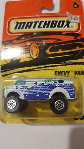 *RARE* Matchbox 4x4 Chevy Van No26, Unopened Box, MINT, Van, box age worn.1995