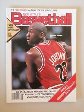 Vintage - DICK VITALES BASKETBALL MAGAZINE PRO COLLEGE ANNUAL 92-93 JORDAN