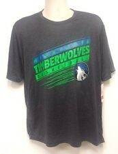 NEW Minnesota Timberwolves NBA Dark Gray Soft T-Shirt - Size Large - OLD LOGO