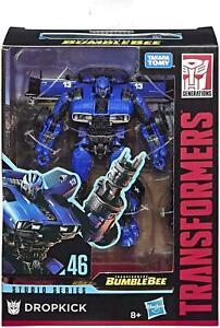 Hasbro Transformers Studio Series 46 Bumblebee Movie Dropkick Action Figure RARE
