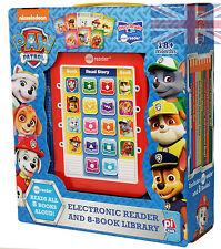 Nickelodeon Electronic Story Reader + 8 Hardbacked Books Paw Patrol  (blue)