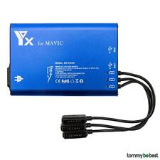 Para DJI Mavic Pro 5 en1 Multi Batería Hub de carga Batería Cargador Nuevo Moda