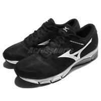 Mizuno Synchro MD 2 Black White Men Running Shoes Sneakers Trainers J1GE17-1802