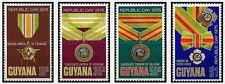 Timbres Médailles Guyana 454/7 ** lot 20857