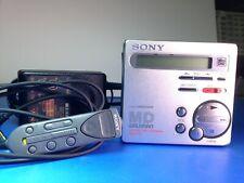 Sony Md walkman Mz-R70 Digital Recorder, minidisc recorder with 20 74 min. discs