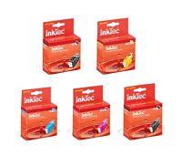 5 Patronen InkTec ip4600 iP 4600 4700 MP540 MP620 MP630 MP640 PGI-520 CLI521