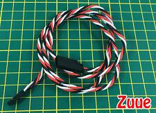 Twisted 80cm Servo Extension Lead (FUTABA) 22AWG