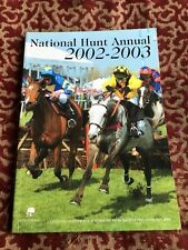 More details for national hunt annual 2002 - 2003  !  large colourful publication