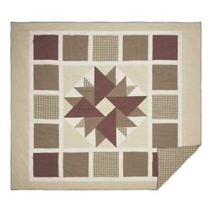 COUNTRY PRIMITIVE FARMHOUSE CIDER MILL PATCHWORK QUILT COLLECTION