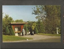 VINTAGE POSTCARD WAY OF THE CROSS LADY OF THE SNOWS BELLEVILLE ILL IL ILLINOIS