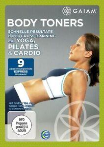 Body Toners: Yoga, Pilates & Cardio Cross-Training (DVD) NEU