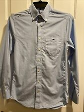 Vineyard Vines Whale Shirt Long Sleeve Button-Down Collared Slim Fit Tucker Xs