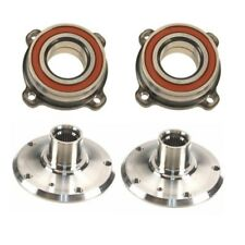 BMW E39 Rear Left and Right Wheel Hub Drive Flange with Bearing Kit Febi / FAG