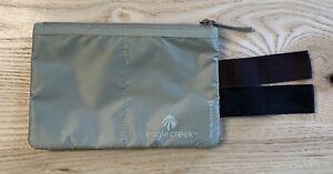 EAGLE CREEK Unisex RFID Blocker Hidden Pocket Tan New without tags
