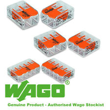 Wago 221 Series New Electrical Lever Connectors Wire Terminal Block 412 413 415