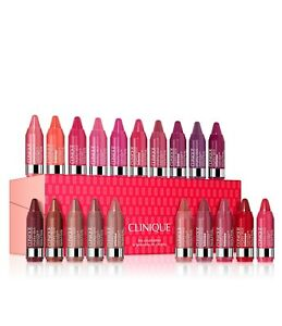 Clinique The Chubettes Chubby Stick Intense Moisturizing Lip Color Minis 20 Pack