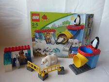 LEGO DUPLO VILLE Polar recinto degli animali-Orso polare, pesce, Pinguino-Artico-Set 5633