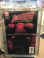 Daredevil Vol 2 #82 Variant CGC 9.8 White Pages Brubaker