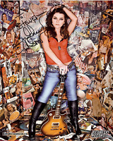 GRETCHEN WILSON Hand Signed Photo 8 x 10 Color Authentic Autograph To Steve