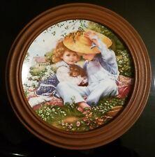 """A Time to Love"" Sandra Kuck by Reco w/ Van Hygan & Smythe plastic plate frame"