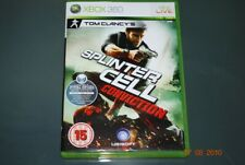 Tom Clancy's Splinter Cell Conviction Xbox 360 UK PAL **PLAYABLE ON XBOX ONE**