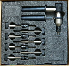 Handnietzange für Blindnieten   2,4-5 mm  NEU mit 4 Mundstücke Nietzangen 1 Stk