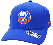 New York Islanders Youth NHL Hockey Team Logo Adjustable Cap Hat