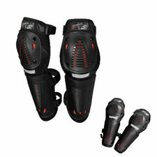 Cycle Knee Shin Pads Downhill Mountain MTB Leg Guards Protector Body Armor
