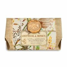 Michel Design Works Large 8.7 oz Artisanal Bar Bath Soap Oatmeal & Honey - NEW