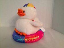 Caltoy Quacking Duck on Swimming Tube Plush Toy Doll