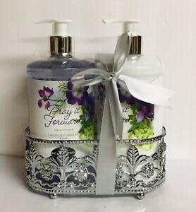 Simple Pleasures ~ Lavender & Vanilla Hand Soap & Hand Lotion 15.8 fl oz Each