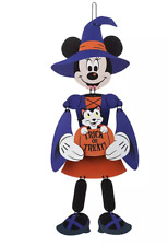 Disney Parks Halloween Minnie Mouse Witch Wall Decoration New Sealed