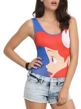 78e2241c14160 The Little Mermaid ARIEL One Piece BODYSUIT Women s Junior size Small S NeW  NWT