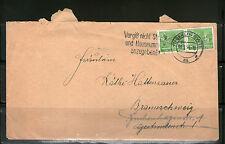 Briefmarken aus Berlin (1954-1955) als Bedarfsbrief