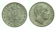pci0398) Vittorio Emanuele III (1900-1943) lire 2 Aquila Sabauda 1905 Mont. 144