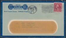 "#599b ON ""ICE WELLER'S COAL"" ADVERTISING COVER AUG 28,1928 BT8517"