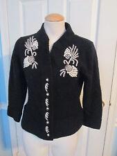 boston proper embroidered sweater s               #84