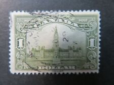 More details for 1929 canada $1 olive-green ,parliament buildings sg285