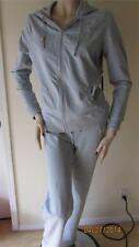 NWT BCBG GRAY HOODY JACKET PANTS SET SIZE L