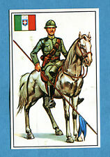 ARMI E SOLDATI - Edis 71 - Figurina-Sticker n. 345 - LANCIERE ITALIANO -Rec