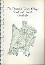 *DOYLESTOWN PA VINTAGE *DELAWARE VALLEY COLLEGE BAND & CHORALE COOK BOOK RECIPES