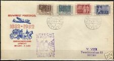 Netherlands 1952 NVPH 592-595 ITEP on used FDC VF