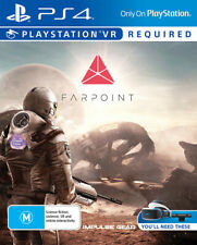 Farpoint PSVR PS4 * Import * Brand New & Sealed Sony Playstation 4 Game *