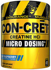 Promera Sports Con-Cret Creatine HCL Micro Dosing (Blue Raspberry 48 Servings)