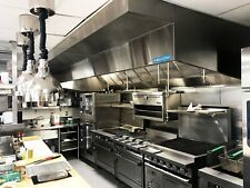 8 Commercial Kitchen Wall Canopy Hood Exhaust Fan And Supply Fan Package