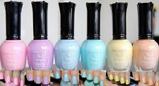 KLEANCOLOR Pastel Nail Polish Set 6 PACK Full Size Nail Lacquer Beauty Makeup