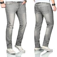 Maurelio Modriano Designer Herren Jeans Hose Basic Stretch Regular Slim MM007