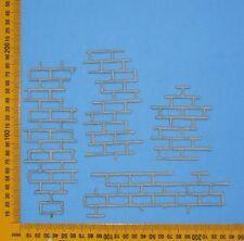 Chipboard A2Z Scraplets Brick Pieces Set of 4